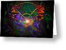 In Search Of Cosmic Pi 3.14 Greeting Card