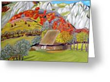 In The Autumn Light Greeting Card