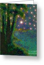In The Beginning God... Greeting Card