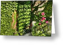 In The Courtyard Greeting Card
