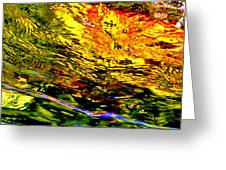 In The Flow 3 Greeting Card