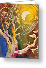 In The Forest Of The Night Greeting Card