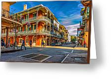 In The French Quarter - 2 Paint Greeting Card