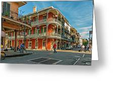 In The French Quarter - 3 Greeting Card