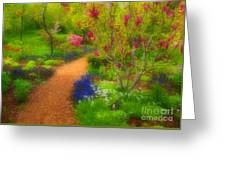 In The Gardens Greeting Card