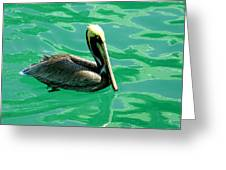 In The Green Zone Greeting Card