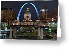 In The Heart Of St Louis Greeting Card