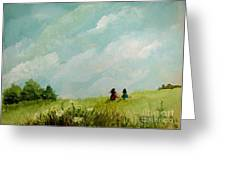 In The Meadow Greeting Card