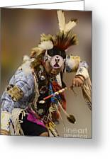 Pow Wow In The Moment Greeting Card
