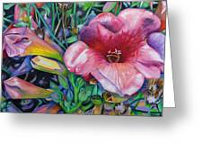 Fragrant Blooms Greeting Card