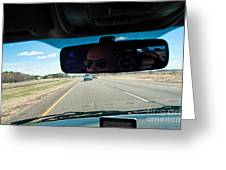 In The Road 2 Greeting Card