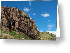 In The Royal Gorge Greeting Card