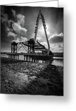 Northern Spire Bridge 4 Greeting Card