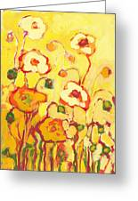 In The Summer Sun Greeting Card