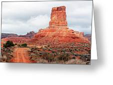In The Valley Of The Gods Greeting Card