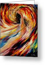 In The Vortex Of Passion Greeting Card