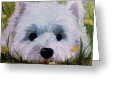 In The Weeds Greeting Card
