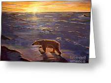 In The Wilderness Greeting Card by Kevin Parrish