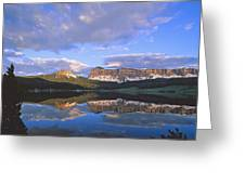 In The Wind River Range. Greeting Card