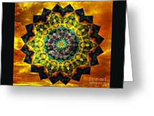 In Tune Mandala Greeting Card