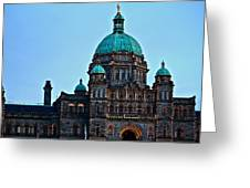 In Victoria Greeting Card