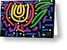 Incan Design Greeting Card