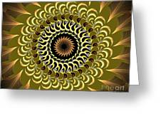 Incendia Kaleidoscope Greeting Card