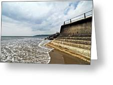 Incoming Tide - Charmouth Greeting Card