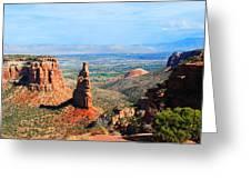 Independance Rock Greeting Card