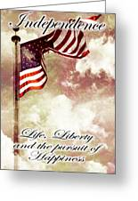 Independence Day Usa Greeting Card
