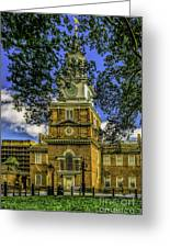 Independence Hall-philadelphia Greeting Card