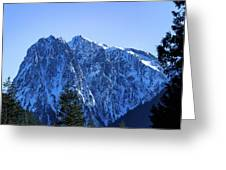 Index Mountain Greeting Card
