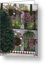 India: Garden Greeting Card