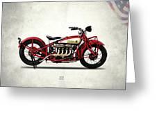 Indian 401 1928 Greeting Card