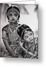Indian Adornment Greeting Card