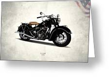 Indian Chief 1946 Greeting Card