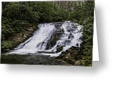 Indian Creek Falls 2 Greeting Card