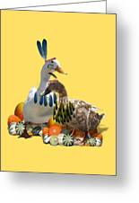 Indian Ducks Greeting Card