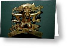Indian Gold Greeting Card