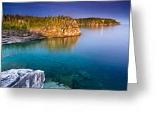 Indian Head Cove Sunrise  Greeting Card