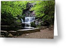 Indian Ladder Falls Greeting Card