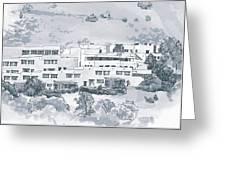 Indian Lodge Greeting Card