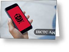 Indian Railways Info App Greeting Card
