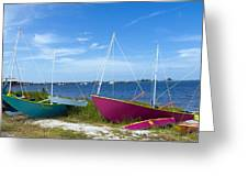 Indian River Lagoon On The Easr Coast Of Florida Greeting Card