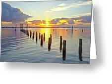 Indian River Sunrise Greeting Card