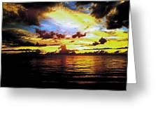 Indian Rocks Sunset Greeting Card