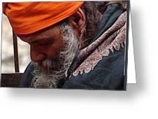 Indian Saint-6 Greeting Card