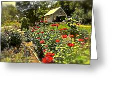 Indian Summer Garden Greeting Card