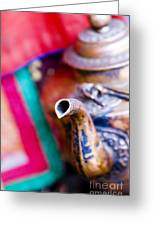 Indian Tea Kettle Greeting Card