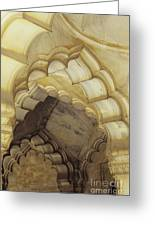 Indian Temple Arches Greeting Card